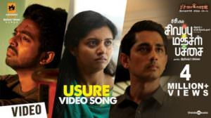 Usure Lyrics | Translation | Sivappu Manjal Pachai | Siddharth