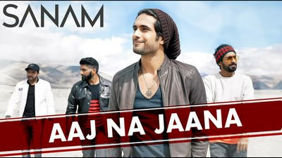 aaj na jaana sanam lyrics