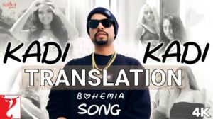Bohemia – Kadi Kadi Lyrics | English Translation