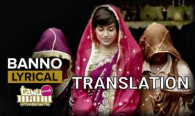 Banno Tera Swagger Laage Lyrics – with Translation   Kangana Ranaut