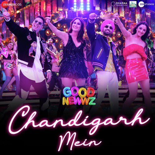 Dila Du Ghar Chandigarh Mein Hindi Lyrics Good Newwz By Badshah