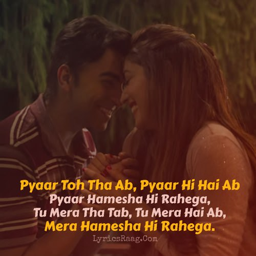 Pyaar Toh Tha Lyrics English Bala Quotes