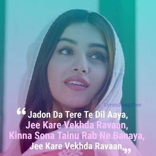 kinna sona tenu rab ne banaya lyrics hindi