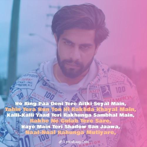 shadow lyrics singga punjabi