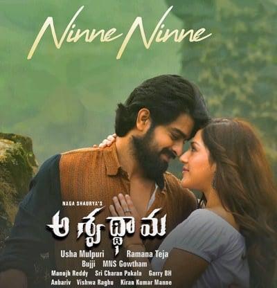 Aswathama Movie Ninne Ninne song lyrics Naga Shaurya