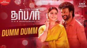Dumm Dumm Lyrics – Rajinikanth | DARBAR (Tamil) | A.R. Murugadoss