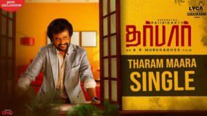 Tharam Maara Single Lyrics – Darbar (Tamil) Film | Anirudh Ravichander