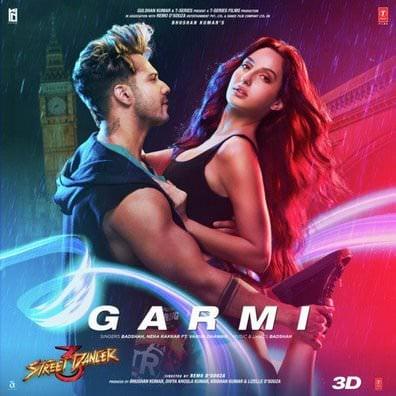 Garmi Song lyrics Street Dancer 3D by Badshah, Tanishk Bagchi