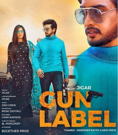 Jigar Ft Gurlej Akhtar Gun Label song lyrics