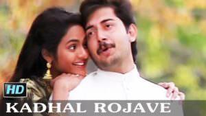 kadhal rojave lyrics in english