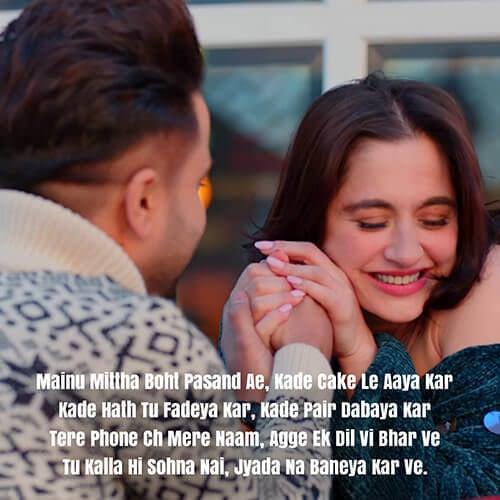 kalla hi sohna nahi lyrics meaning english akhil