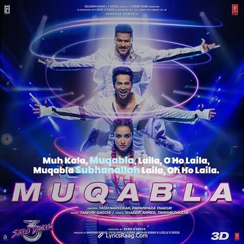 muqabla lyrics english translation varun dhawa
