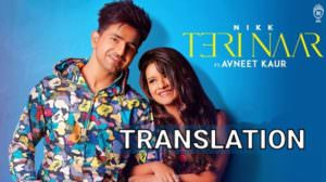 TERI NAAR SONG LYRICS (with TRANSLATION) | NIKK
