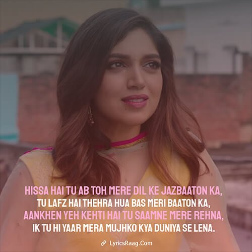tu hi mera yaars lyrics English translation Pati Patni Aur Woh