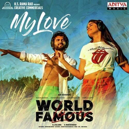 My Love Telugu Lyrics World Famous Lover By Ramya Behara, Sri Krishna