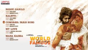 Comosava Paris lyrics World Famous Lover by Benny Dayal