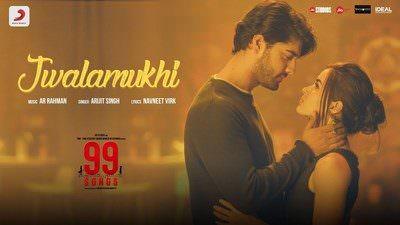 Jwalamukhi Lyrics – Arijit Singh | 99 Songs (Movie) | A.R.Rahman