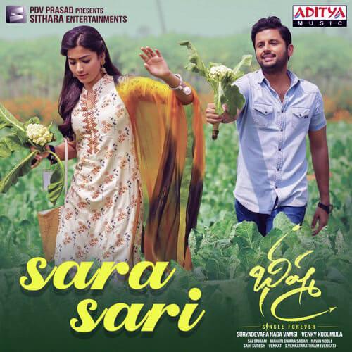 Sara Sari Telugu lyrics Bheeshma by Anurag Kulkarni