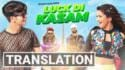 Luck Di Kasam track lyrics English