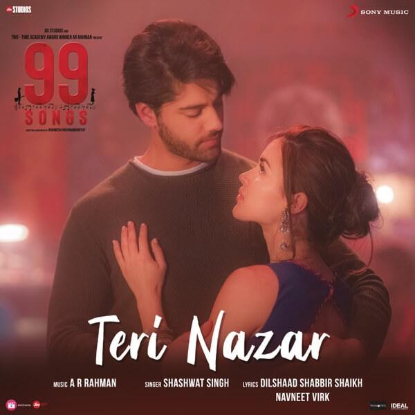 Teri Nazar (From 99 Songs) lyrics English
