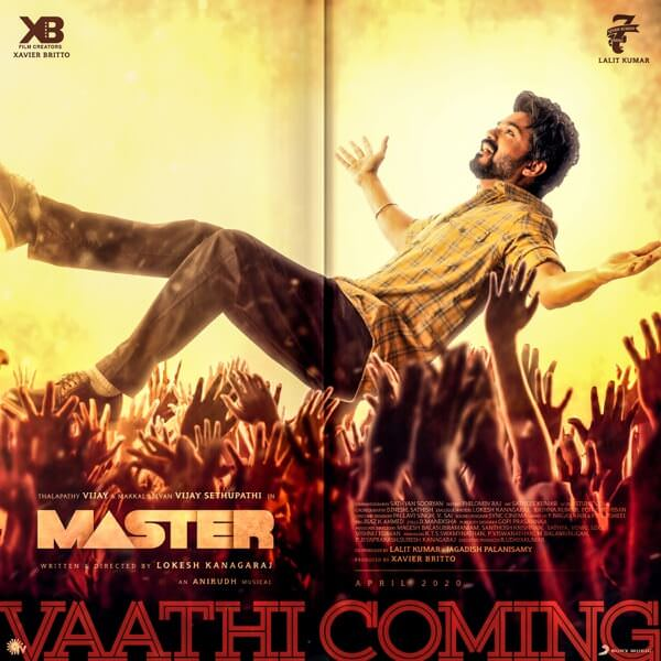 Vaathi Coming (From Master) - Single (by Anirudh Ravichander) lyrics