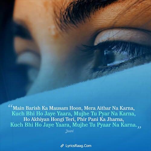 Kuch Bhi Ho Jaye lyrics Hindi English B Praak Jaani