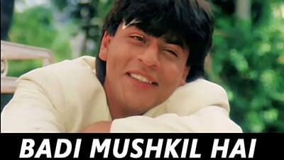 Badi Mushkil Hai Khoya Mera Dil Hai lyrics in English