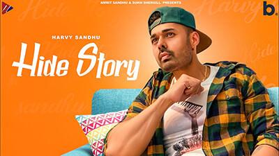 HIDE STORY Harvy Sandhu song lyrics