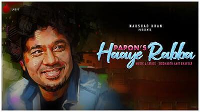 Haaye Rabba by Papon song lyrics