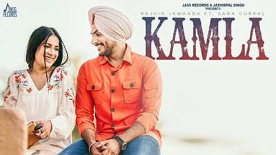 Kamla song lyrics Rajvir Jawanda - Sara Gurpal -G Guri