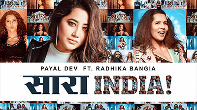 Saara India song lyrics payal Dev Radhika Bangia