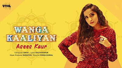 Wanga Kaliyan Lyrics Translation - Asees Kaur