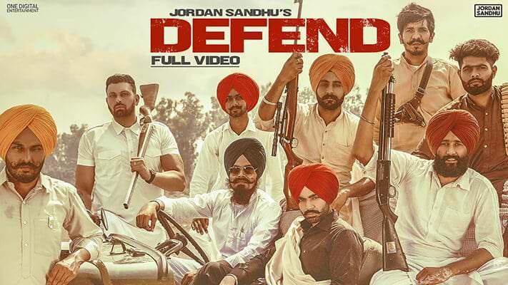 Defend song lyrics Jordan Sandhu-min