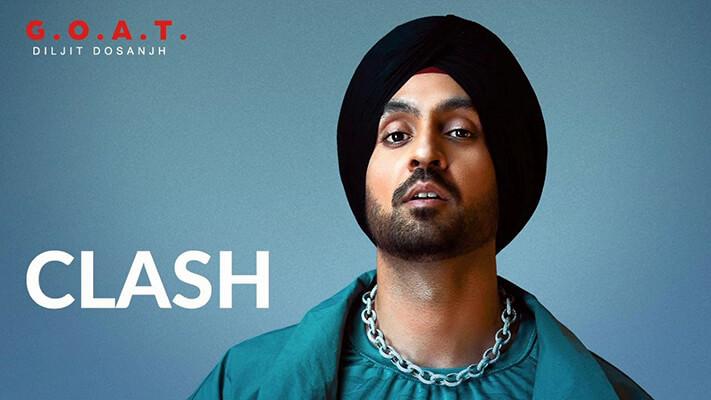 Diljit Dosanjh Clash track lyrics