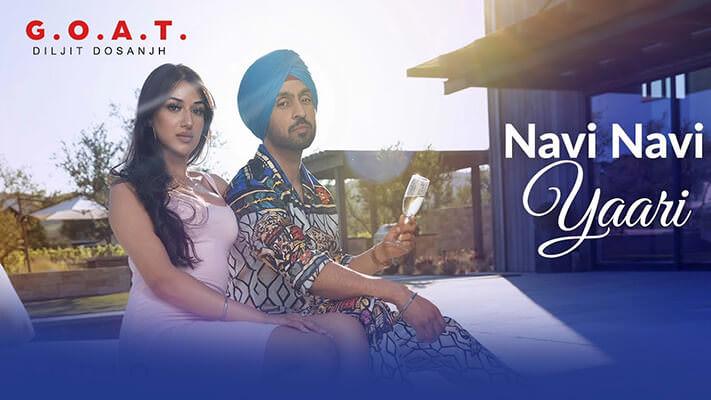 Diljit Dosanjh Navi Navi Yaari track lyrics