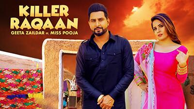 Killer Raqaan Geeta Zaildar Miss Pooja song lyrics