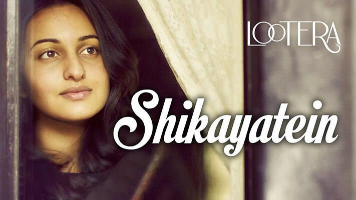 shikayatein lootera lyrics english translation