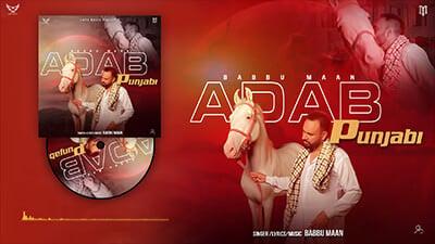 Babbu Maan Adab Punjabi lyrics