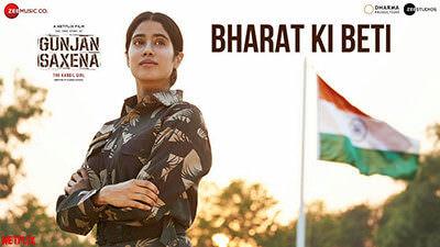 Bharat Ki Beti Lyrics Translation – Gunjan Saxena (Movie)