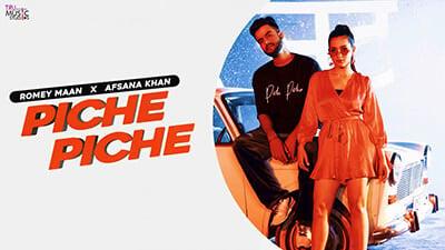 Piche Piche Romey Maan Afsana Khan song lyrics