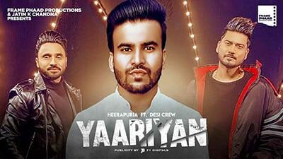 Yaariyan - Heerapuria song lyrics