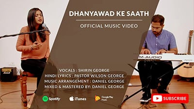 dhanyawad ke saath lyrics in english