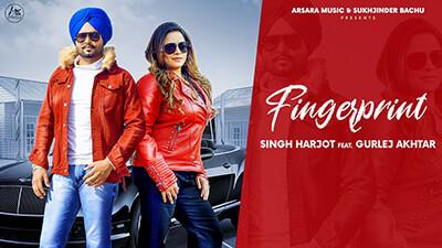 Finger Print lyrics Singh Harjot Feat Gurlej Akhtar