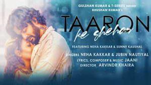 Taaron Ke Shehar Song Neha Kakkar Sunny Kaushal Jubin Nautiyal lyrics translation