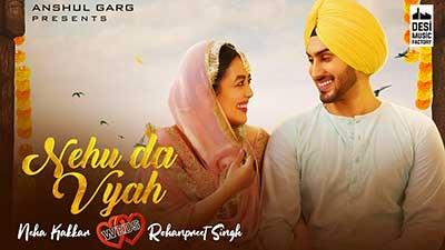NEHU-DA-VYAH-lyrics-Neha-Kakkar-&-Rohanpreet-Singh