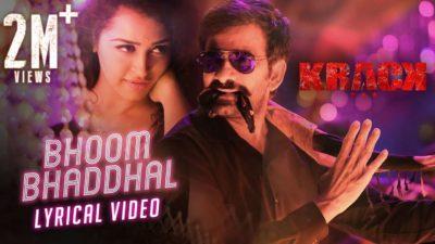 Bhoom Bhaddhal Lyrics – Krack (movie)