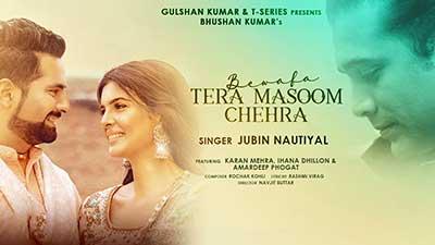 Bewafa-Tera-Masoom-Chehra-lyrics-English-Jubin-Nautiyal
