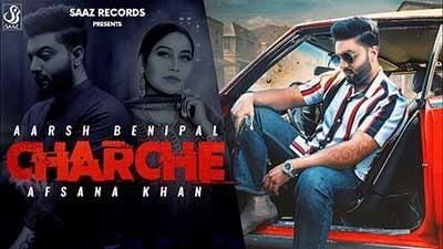 Charche Lyrics – Aarsh Benipal & Afsana Khan