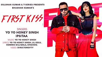 First-Kiss-Yo-Yo-Honey-Singh-lyrics-Ipsitaa-English