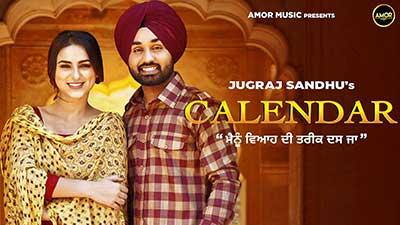 Calendar-lyrics-Jugraj-Sandhu